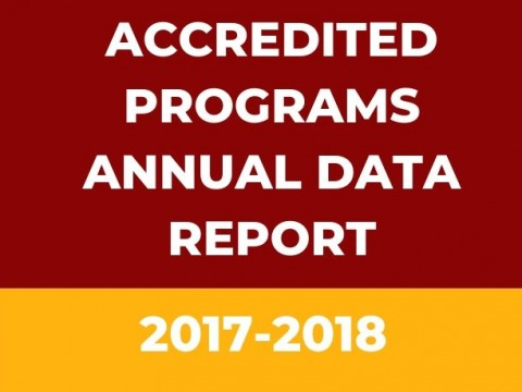 2017-18 Annual Accreditation Data