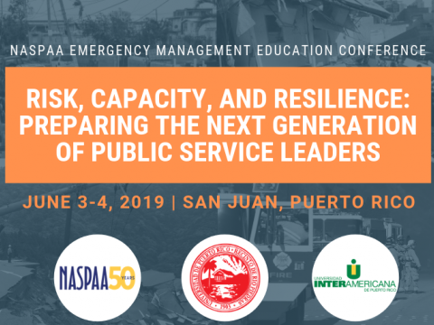 NASPAA Emergency Management Education Conf