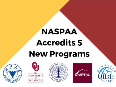 2019 Newly Accredited Programs