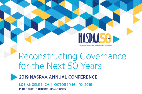 2019 NASPAA Conference Banner
