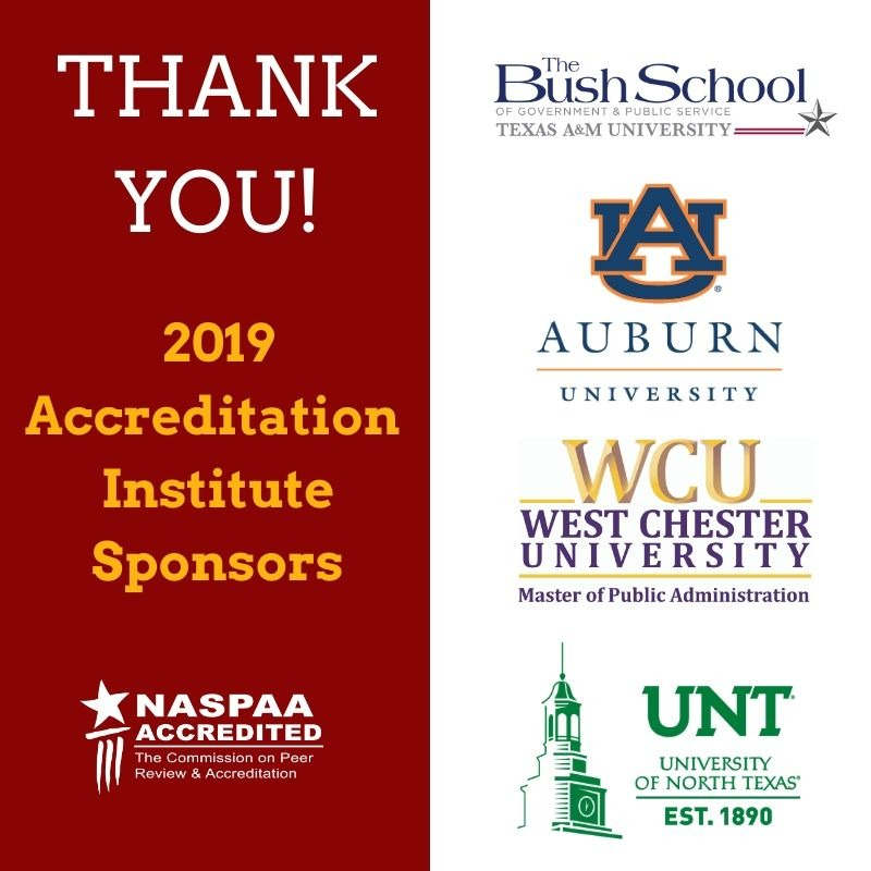 Thank you, 2019 AI Sponsors!