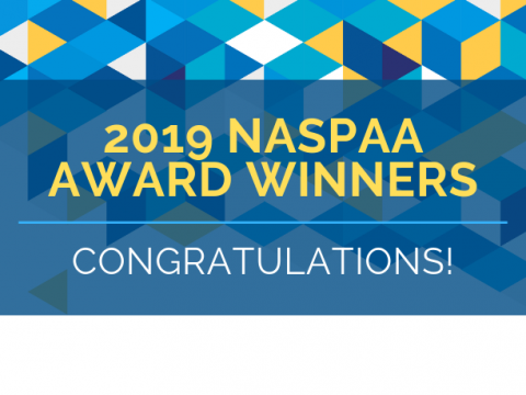 2019 NASPAA Award Winners