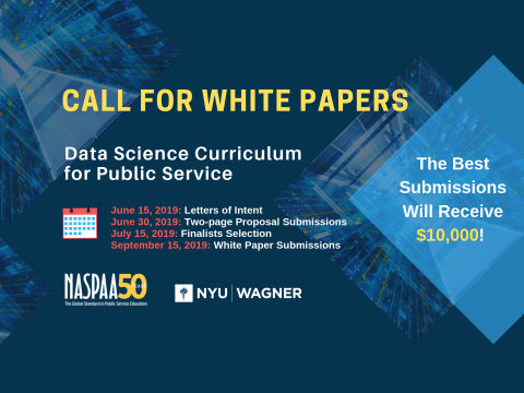 Data Science Call for White Papers