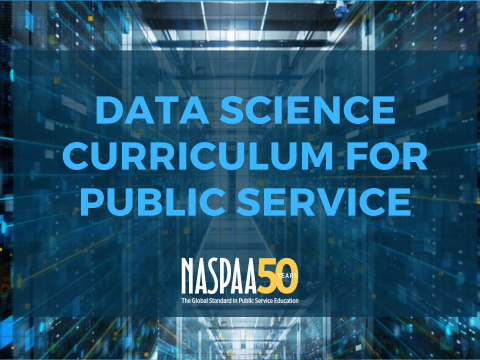 Data Science Curriculum for Public Service